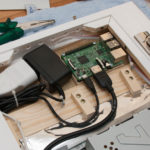 Raspberry Pi im Rahmen