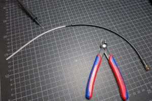 λ/4 Antenne aus Koaxialkabel