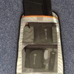 Lowepro m-Trekker BP 150: Rückenteil mit Netztaschen